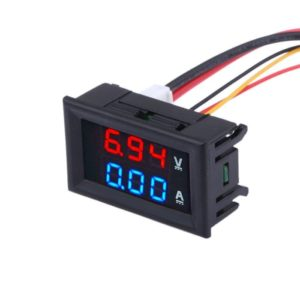 Voltmeter Ammeter Dual display