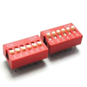 Slide DIP Switch 6